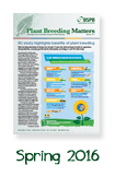 Plant Breeding Matters Spring 2016 issue
