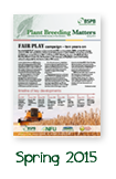 Plant Breeding Matters Spring 2015